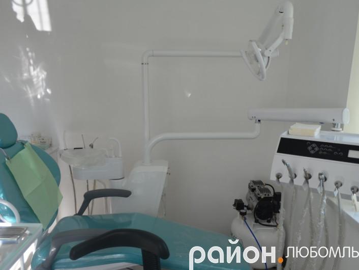 Облаштування стоматологічного кабінету в Рівному обійшлося у 140 тисяч гривень.