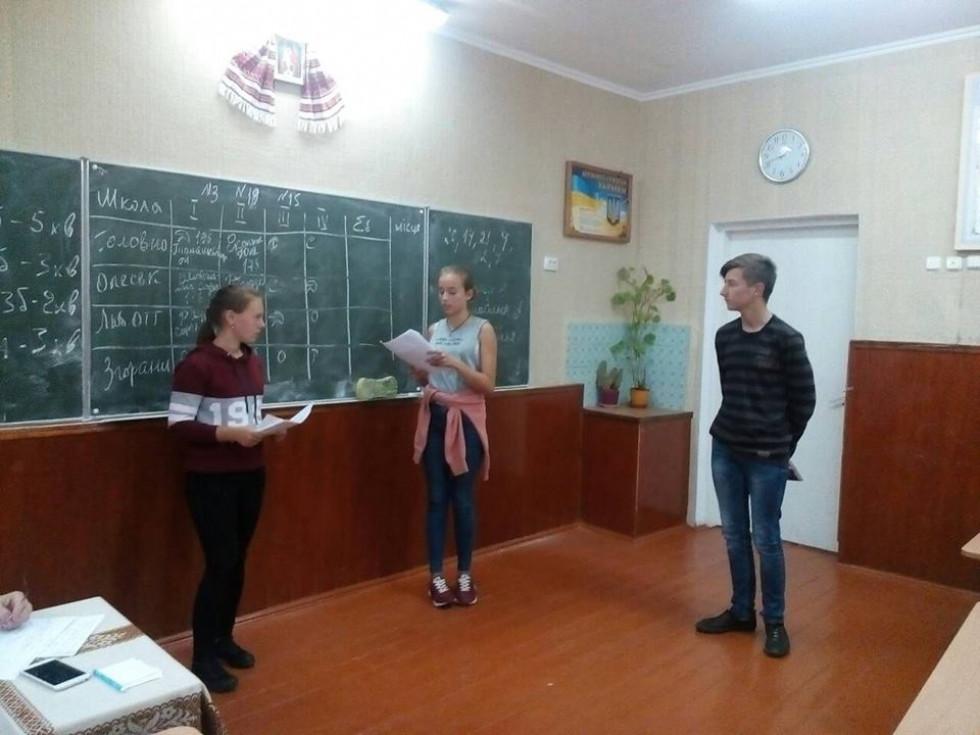 Турнір юних географів