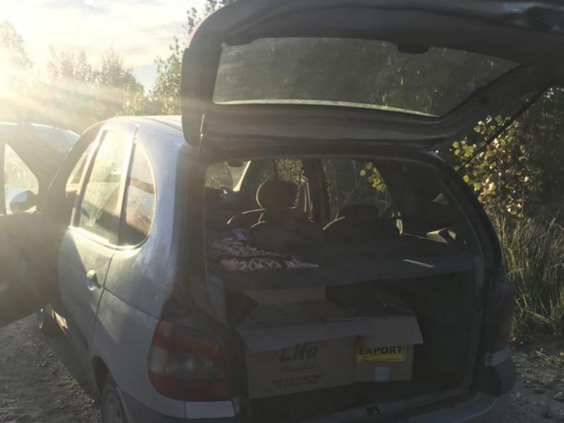 Авто з контрабандним куривом