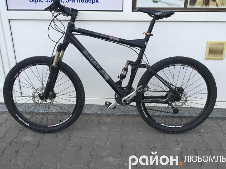 Украдений велосипед