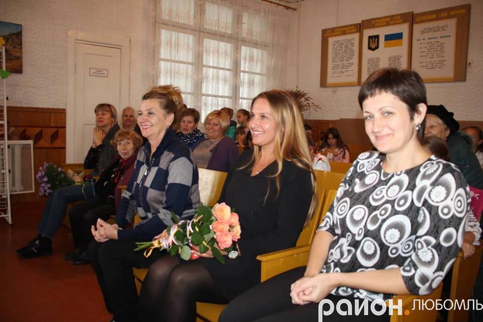 Працівники Любомльського Будинку школяра.