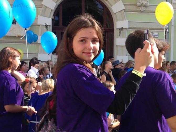 Учениця 11 класу Олеської ЗОШ І-ІІІ ст. Ольга Павлічук