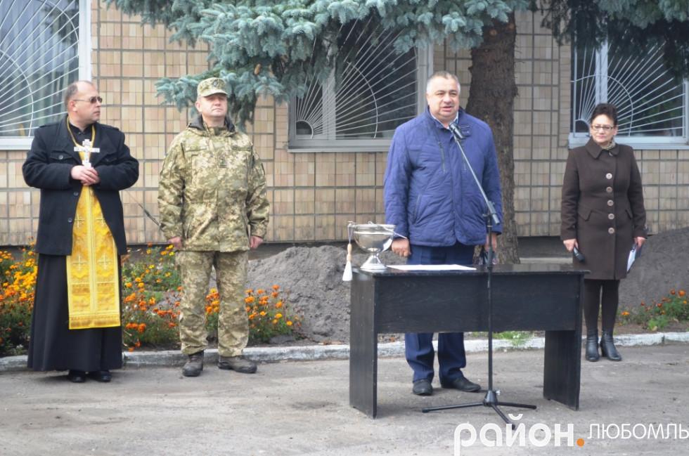 Очільник Вишнівської ОТГ Віктор Сущик.
