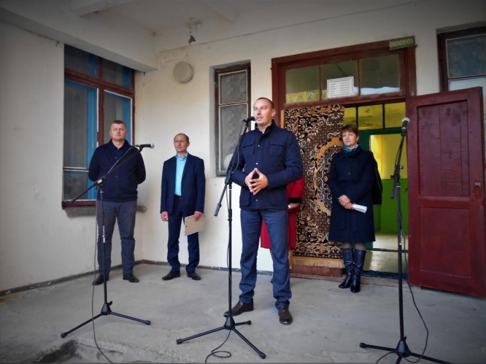 Присутніх привітав сільський голова Володимир Крижук