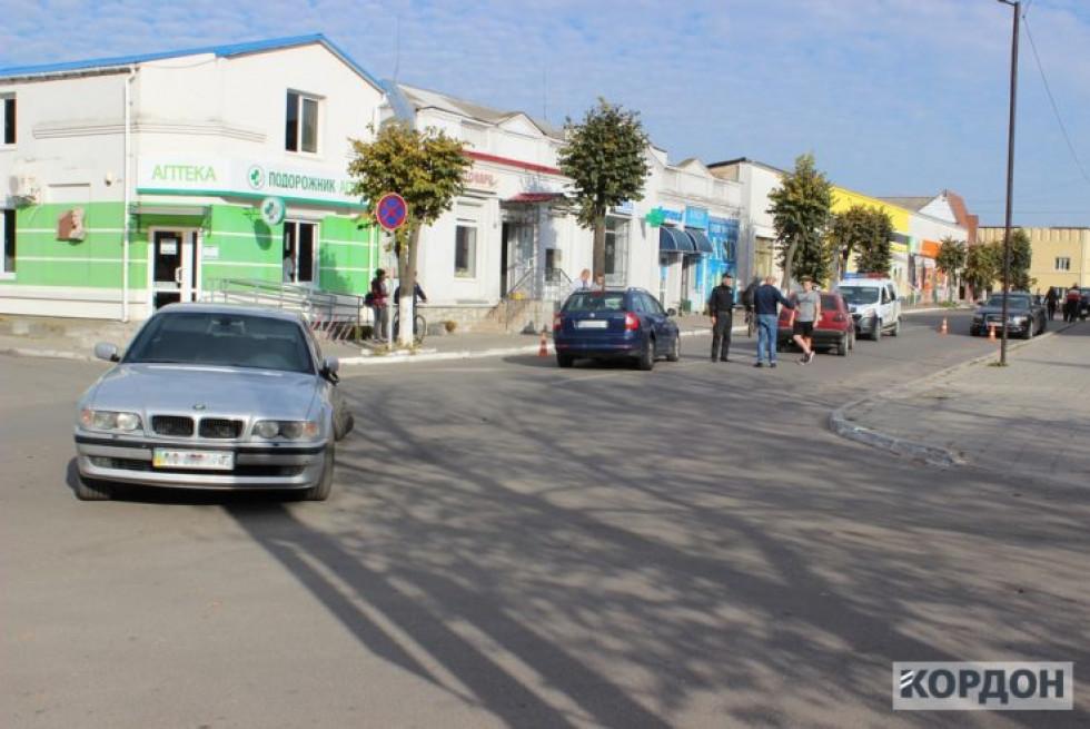 Аварія в Любомлі