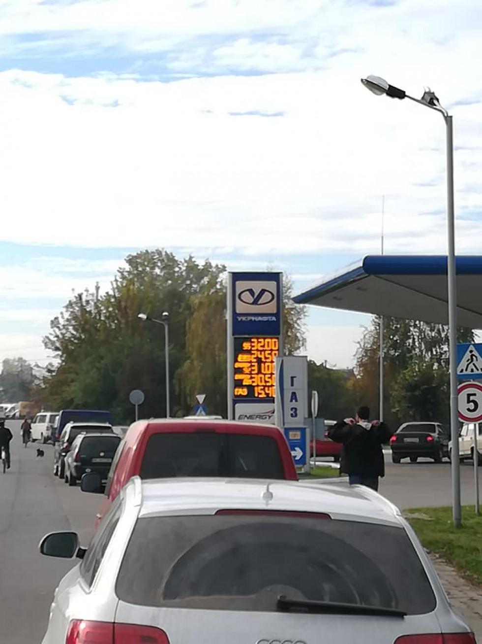 Водії Любомльщини проігнорували бойкот цін на пальне.