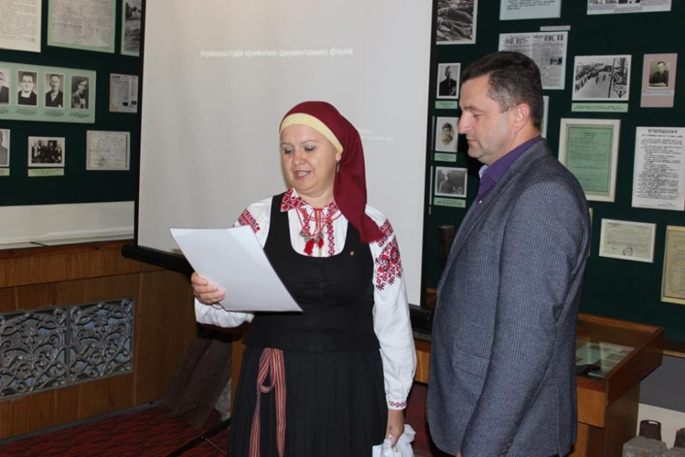 Нагородження депутата Любомльської районної ради Віталія Данилюка.