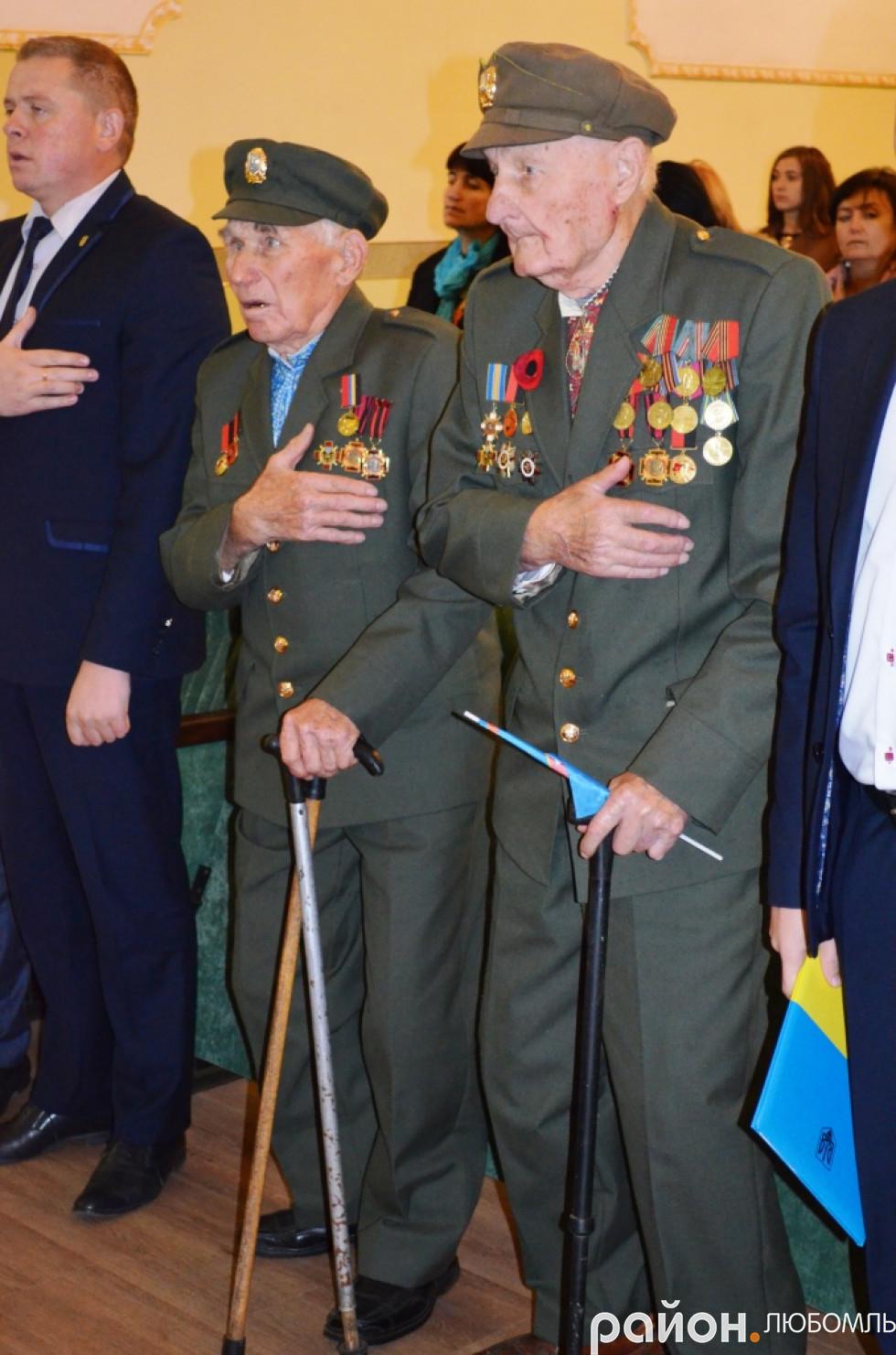 Анатолій Дроздович і Сергій Піддубенець