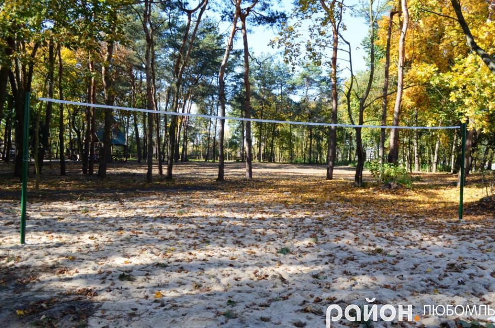 Волейбольне поле