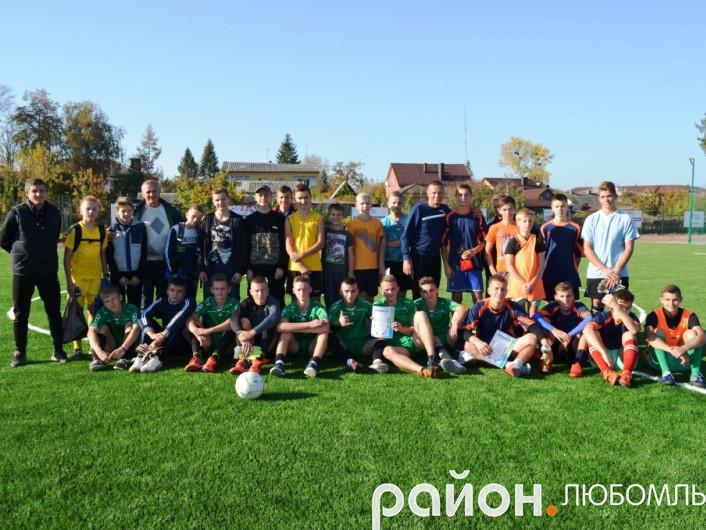 У Любомлі провели турнір з міні-футболу