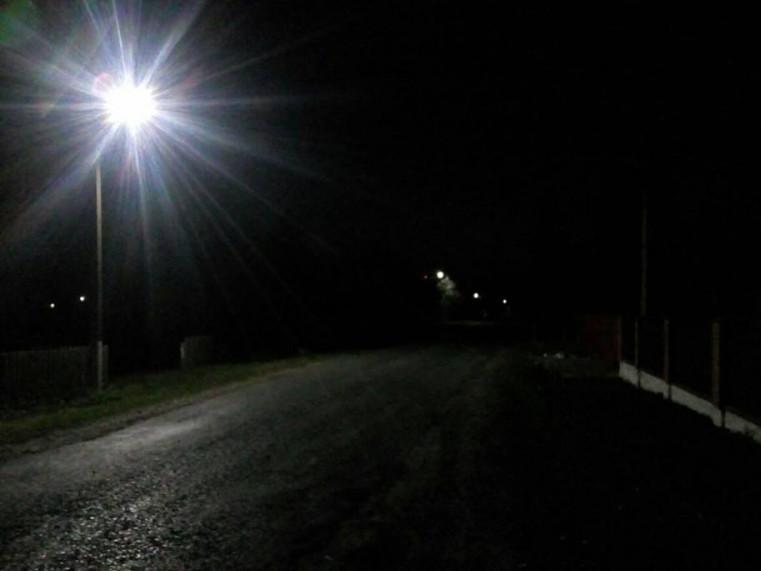 У Штуні тепер три вулиці освітлюються