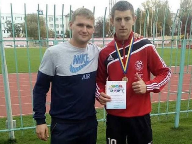 Юний легкоатлет з Любомльщини переміг в обласних змаганнях