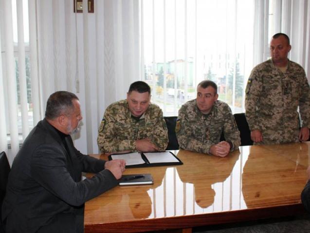 Представлення нового військового комісара