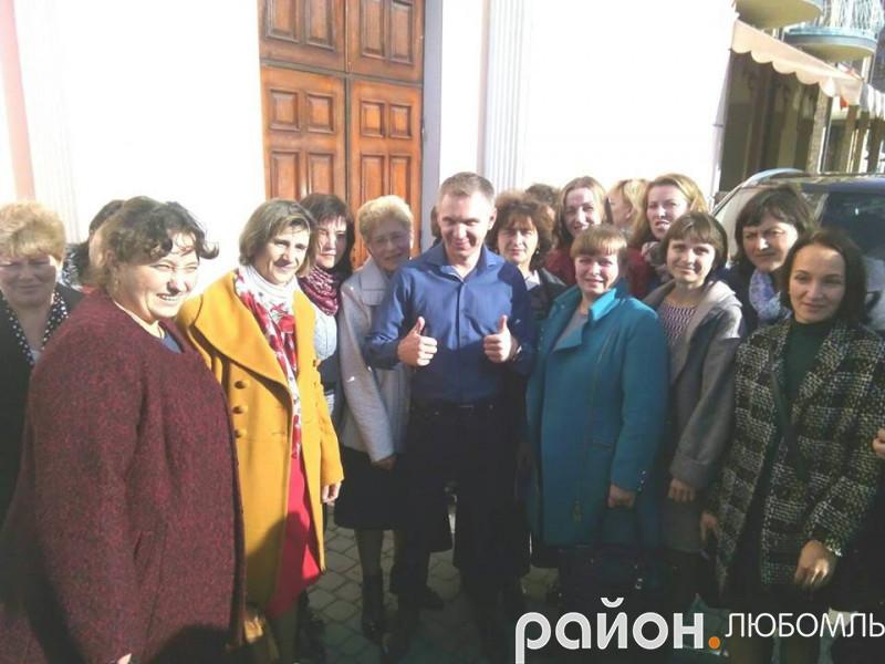 Педагоги Любомльщини зустрілися з відомим мовознавцем