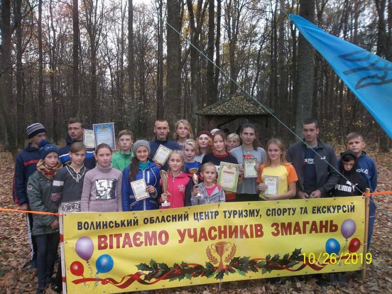 Учасники змагань з Любомльщини