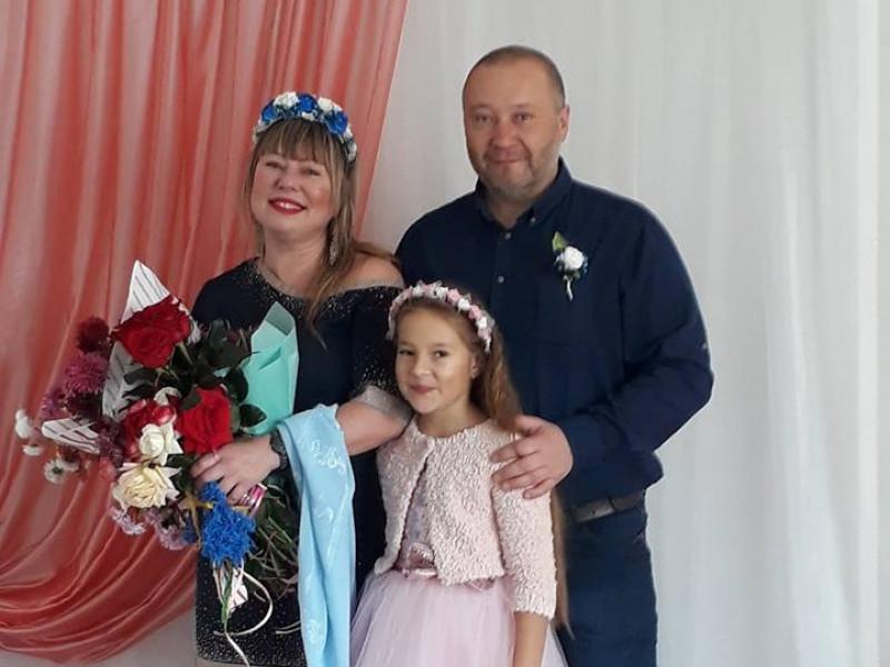Новоспечене подружжя Боярчуків
