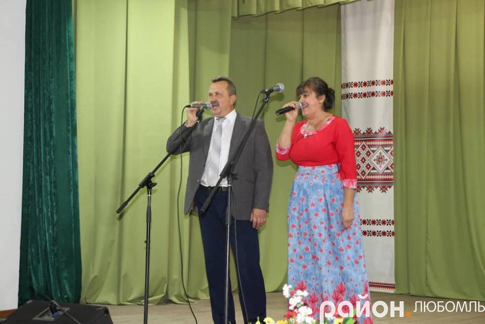 Світлана Пархонюк та Іван Маляс