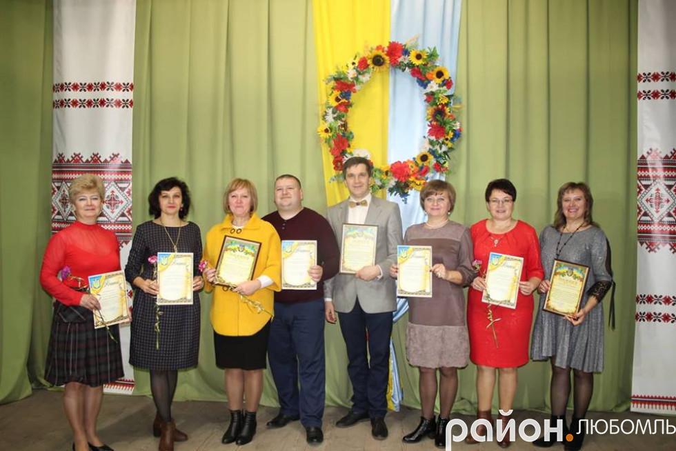 Нагороджені працівники культури