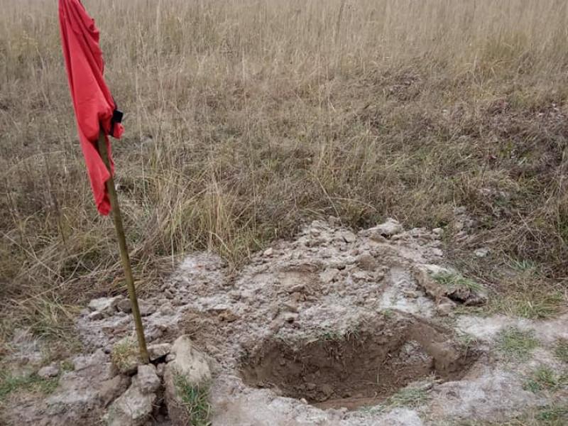 У Римачах знайшли снаряд часів Другої світової війни