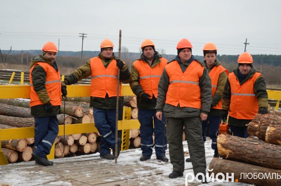 Працівники лісокомплексу