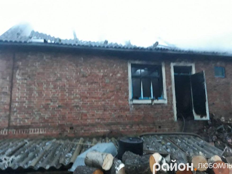 Пожежа у Полапах