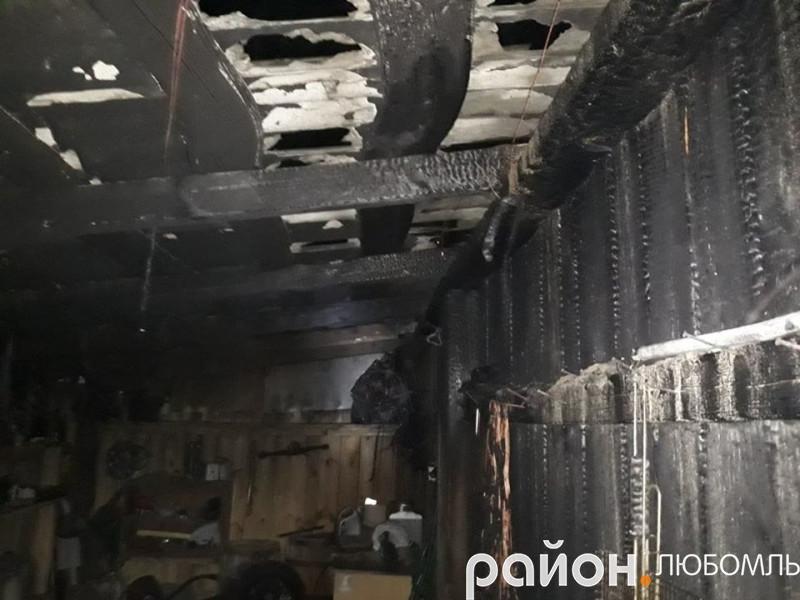 Пожежа у Масловці