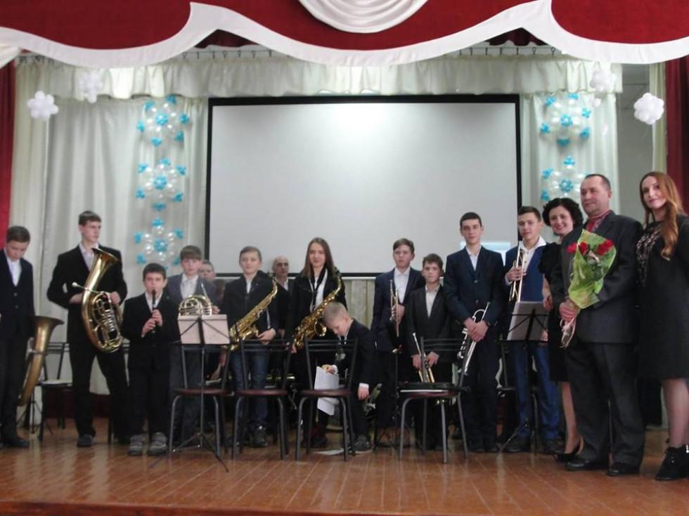 Вихованці духового оркестру