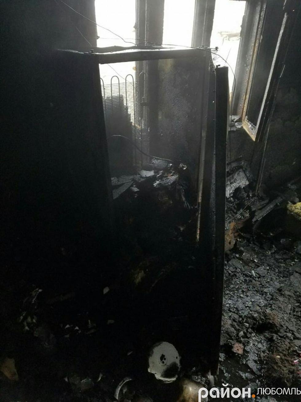 Пожежа у Вишневі