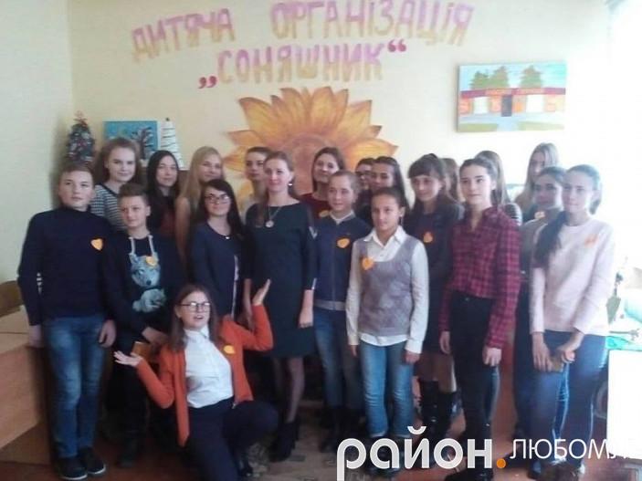 Зустріч волонтерських груп шкіл Любомльської ОТГ