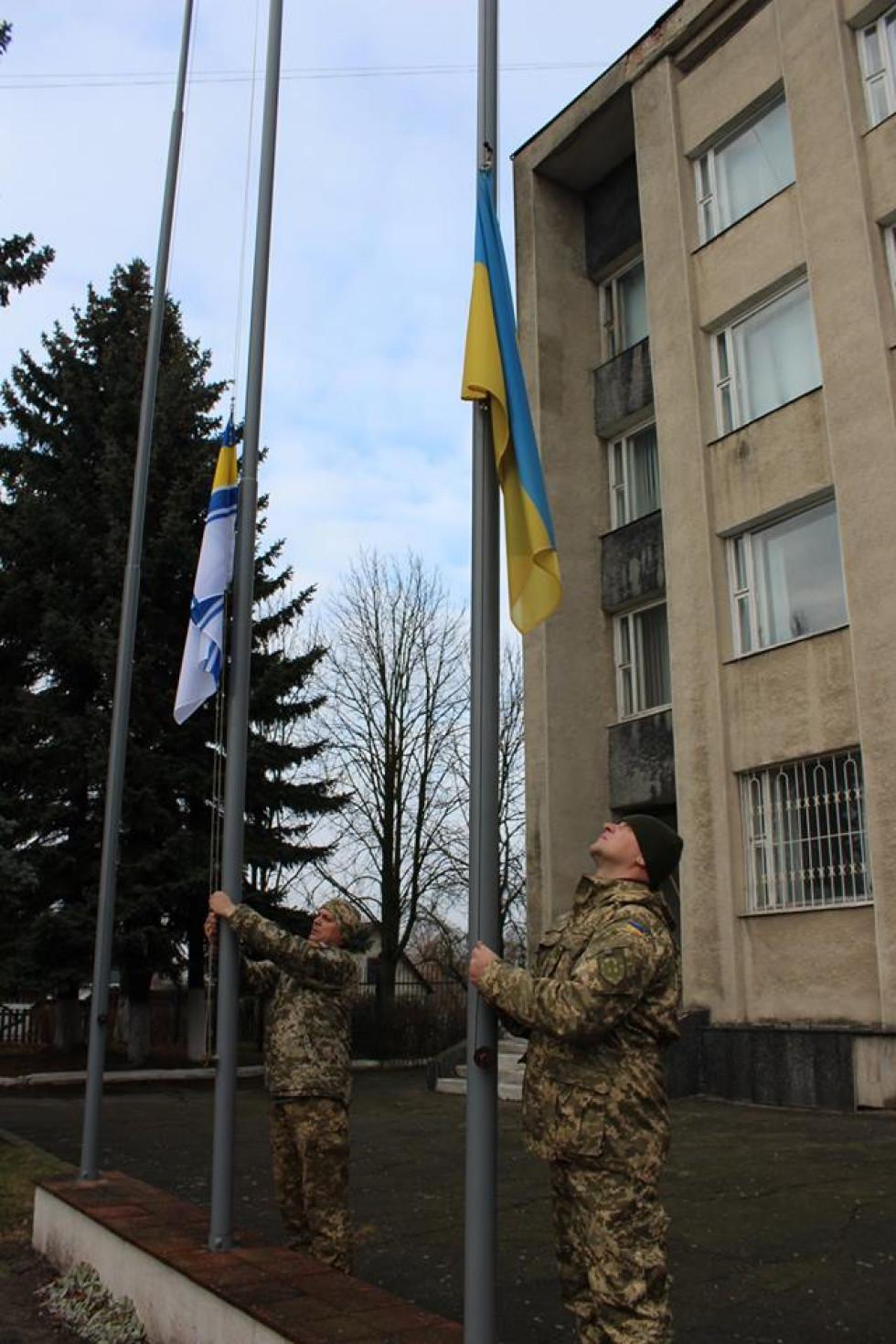 Учасники АТО Олександр Лисенко та Андрій Федюшин.