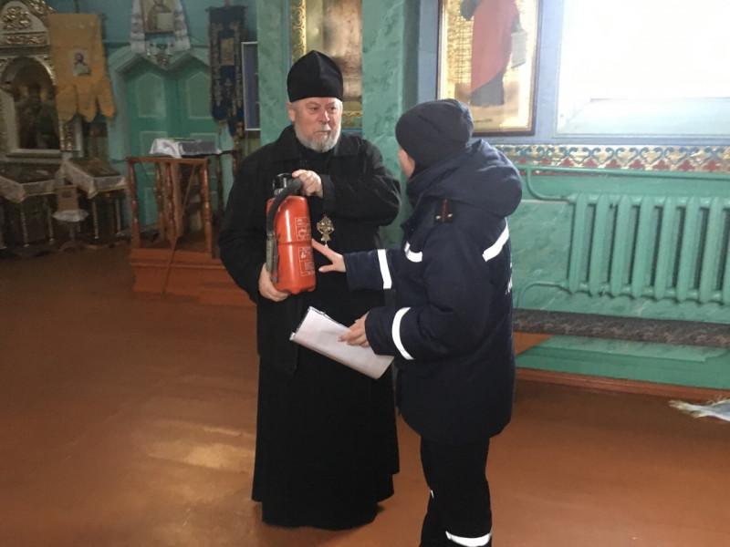 На Любомльщині священикам нагадали про пожежну безпеку в церквах