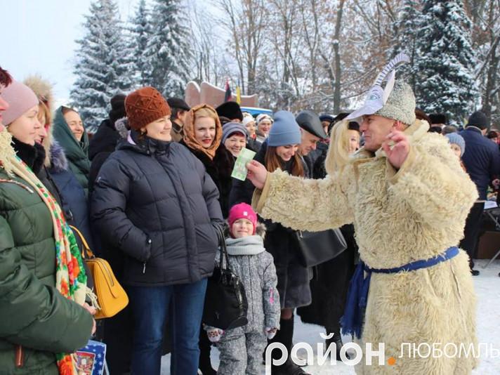У Любомлі визначили переможців фестивалю «Різдвяна гостина»