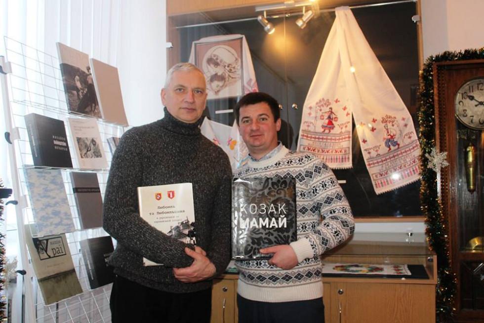 Валерій Сахарук з Юрієм Фініковським