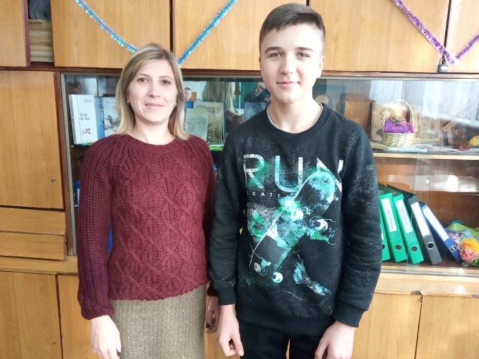 Олександр Козир із Наталією Арістовою