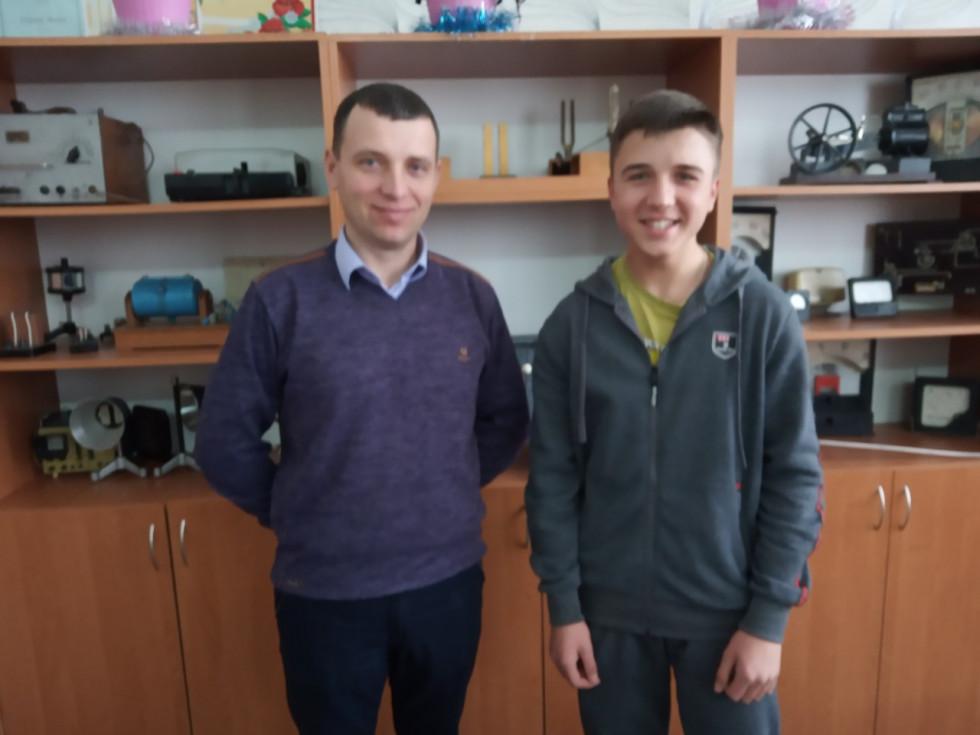 Олександр Козир із Андрієм Риженковим