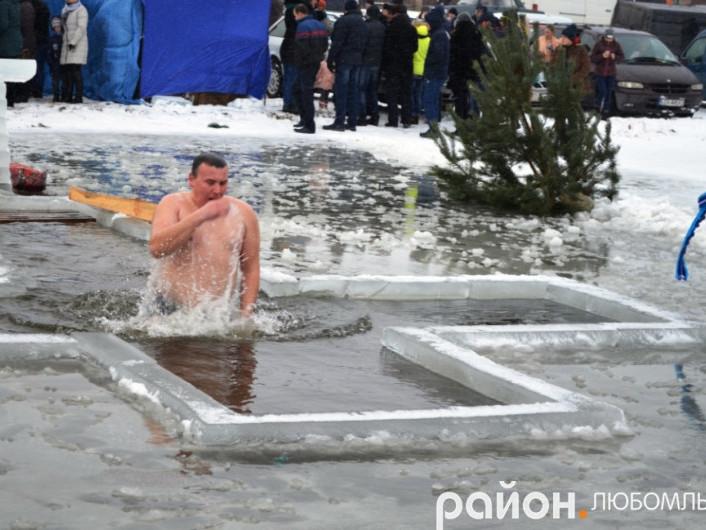 Правила купання на Водохреще