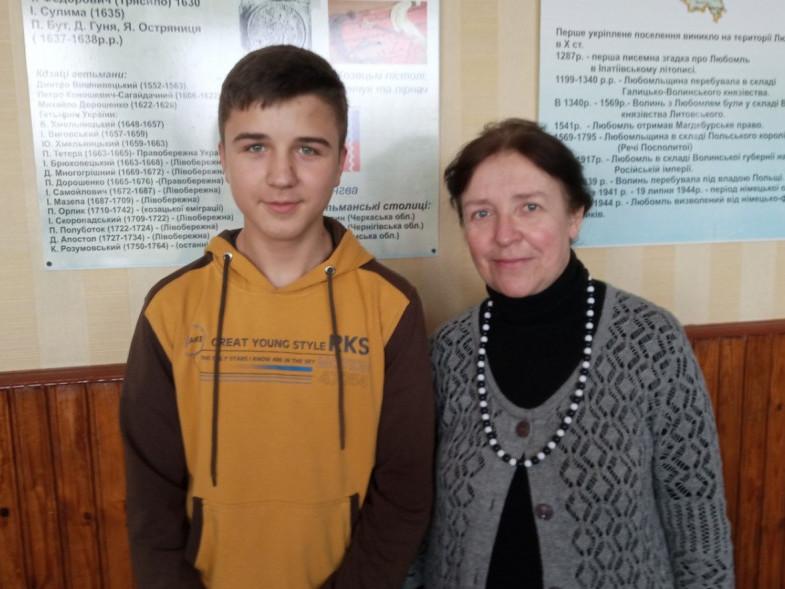 Сашко з Іриною Козачук