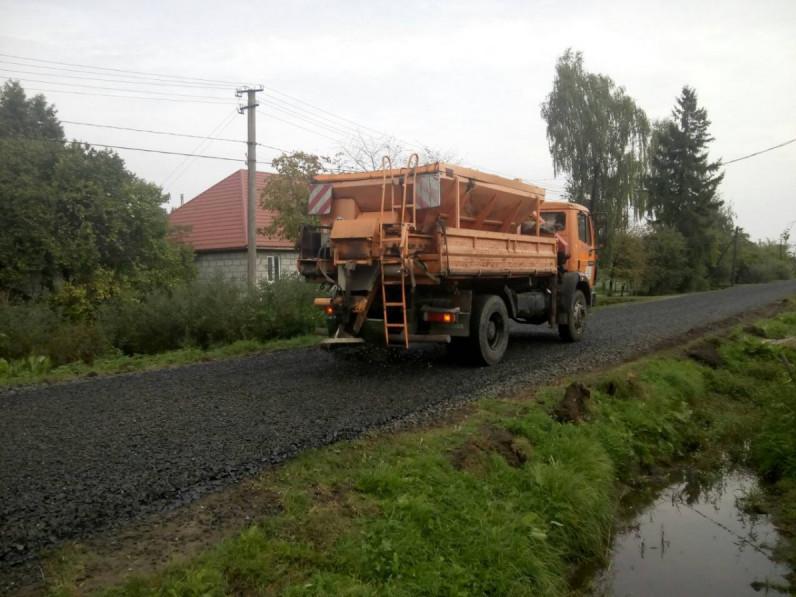 У селі Штунь здійснили капітальний ремонт дороги по вулиці Миру.