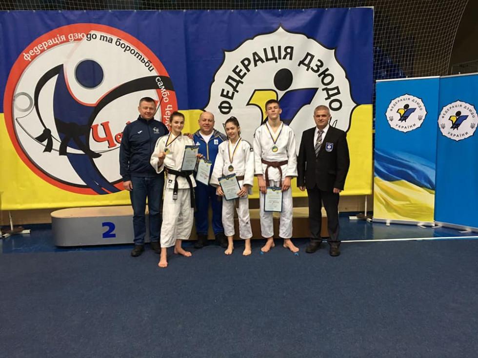 Дзюдоїстка з Любомля стала чемпіонкою України серед кадетів