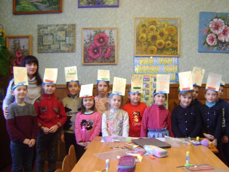 У Будинку школяра за допомогою ігор вчили англійську мову