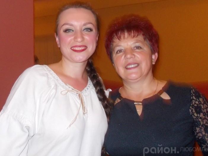 Ірина з мамою Валентиною Сарафонівною.