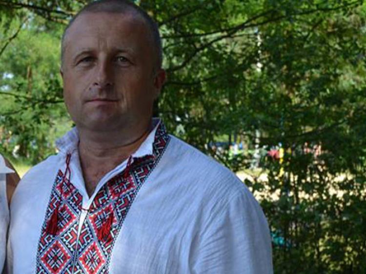 Згоранський сільський голова Олександр Лукашук