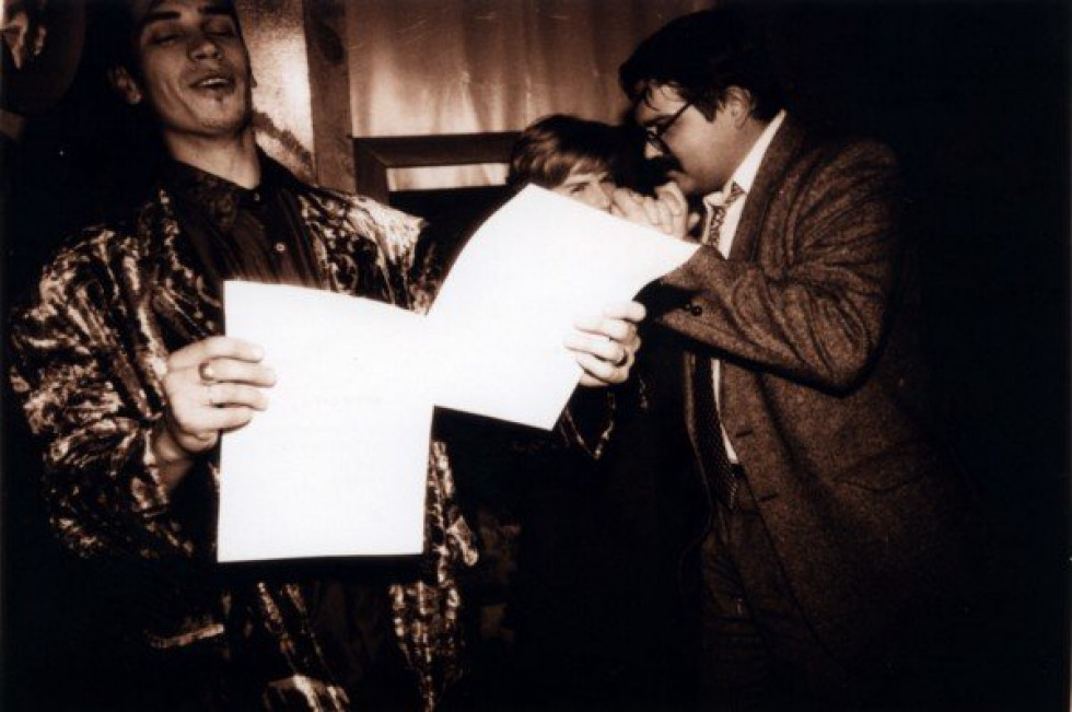 Фото тусівки з архіву О.Соловйова