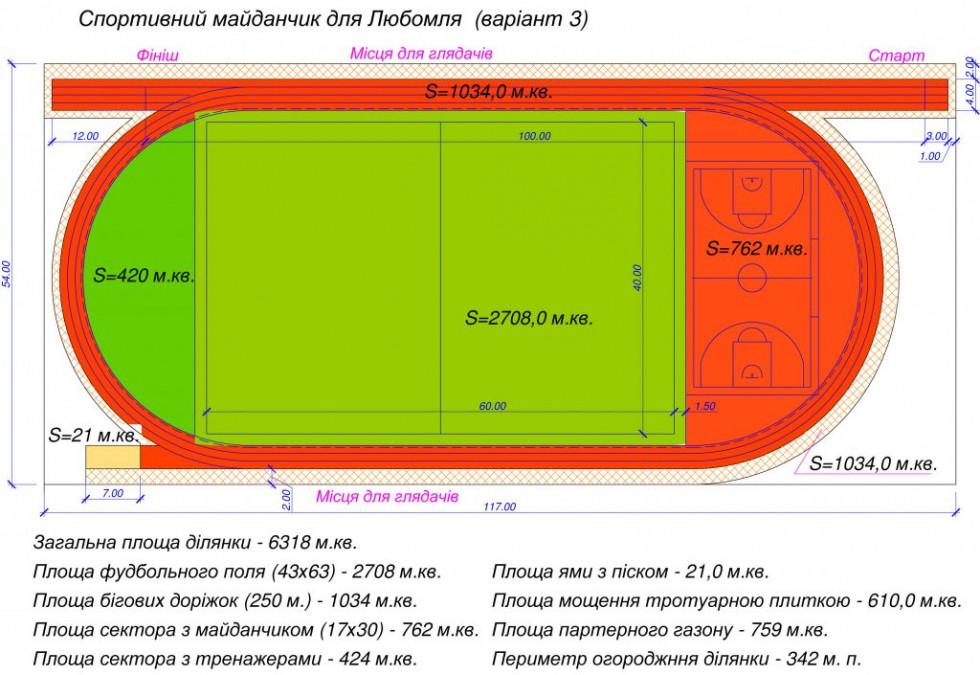 Загальна вартість майданчику — шість мільйонів гривень.
