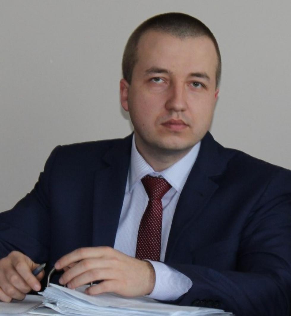 Голова Любомльської ОТГ Роман Ющук.