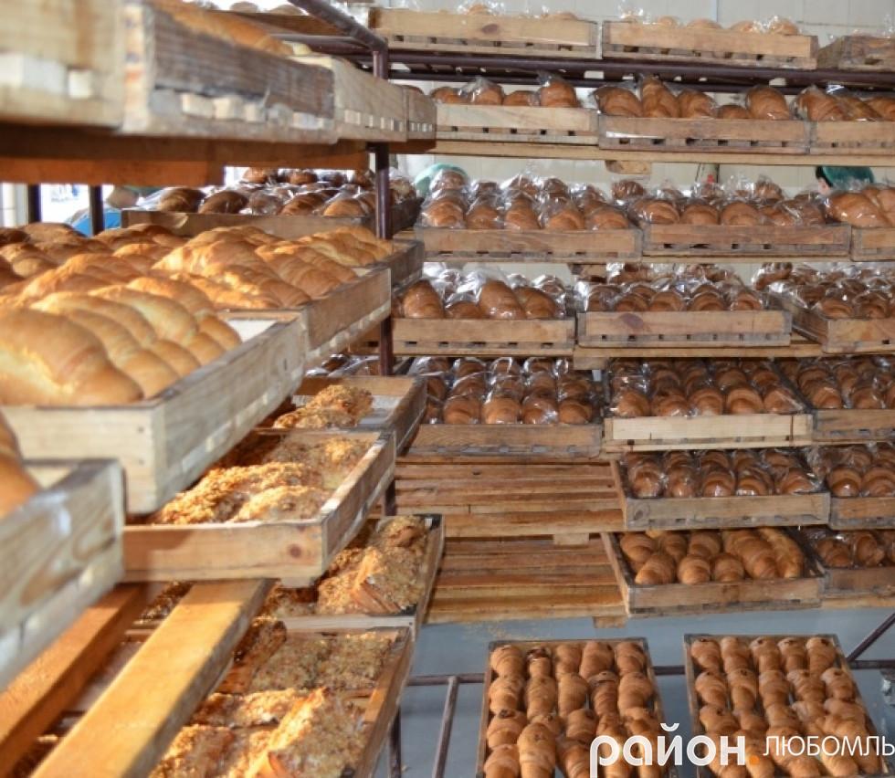 Запашний хліб, булки, круасани любомльських хлібопекарів.