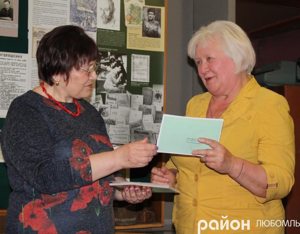 Світлана Овдієвич привітала землячку.