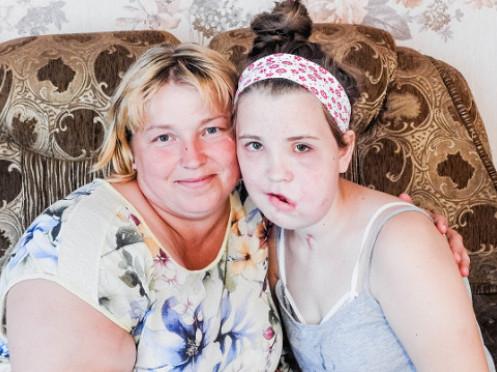 Іванка Гаджало з мамою