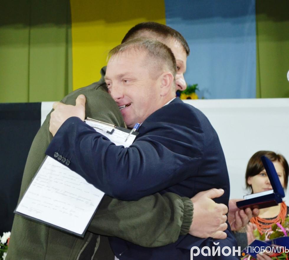 Андрій Дем'янчука всіх об'єднав й організував до роботи.