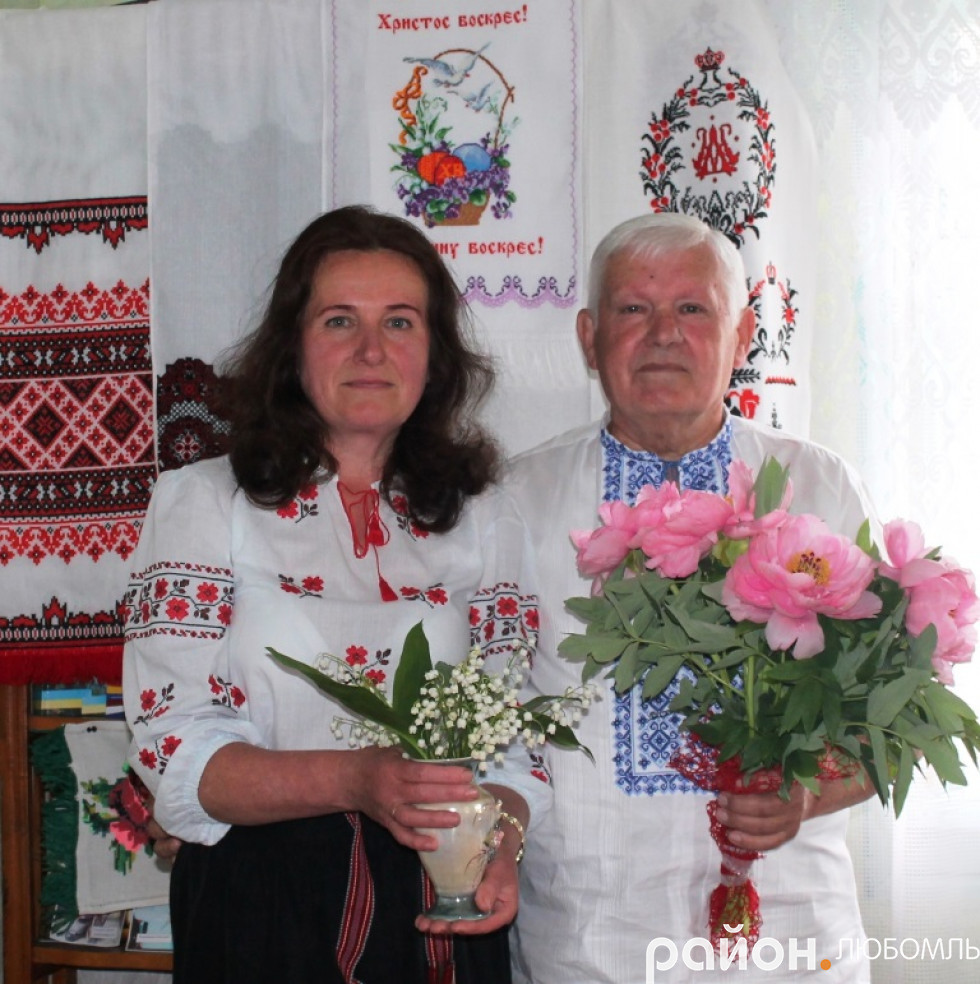 Катерина Повшук з Миколою Гриценком.